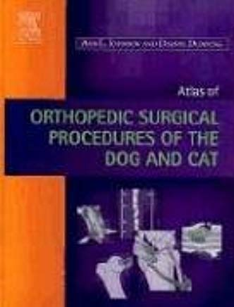 Atlas of  Orthopedic Surgical Procedures of the Dog and Cat Cover