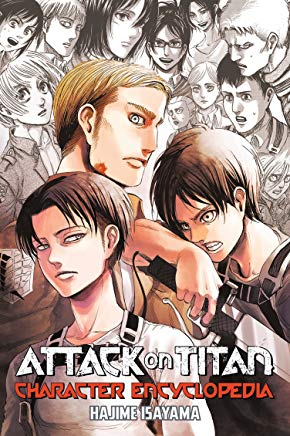 Attack on Titan Character Encyclopedia Cover