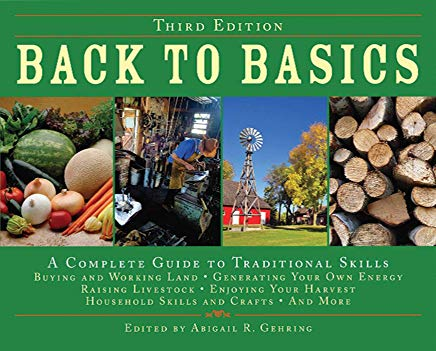 Back to Basics: A Complete Guide to Traditional Skills, Third Edition Cover