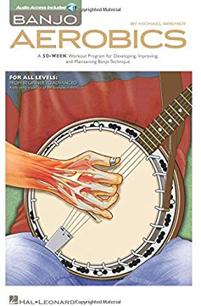 Banjo Aerobics: A 50-Week Workout Program for Developing, Improving and Maintaining Banjo Technique Cover
