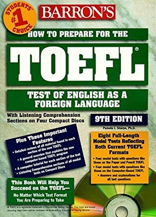 Barron's How to Prepare for the Toefl Test: Test of English As a Foreign Language (Barron's How to Prepare for the Toefl Test of English As a Foreign Language) by Pamela J. Sharpe (1999-03-03) Cover