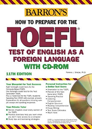 Barron's How to Prepare for the TOEFL with CD-ROM, 11th Edition Cover