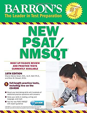 Barron's NEW PSAT/NMSQT with CD-ROM, 18th Edition (Barron's PSAT/NMSQT) Cover