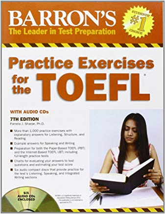 Barron's Practice Exercises for the TOEFL: Test of English as a Foreign Language Cover