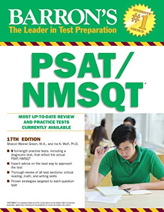 Barron's PSAT/NMSQT, 17th Edition Cover