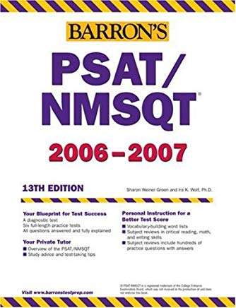 Barron's PSAT/NMSQT 2008 (Barron's How to Prepare for the Psat Nmsqt Preliminary Scholastic Aptitude Test/National Merit Scholarship Qualifying Test) Cover