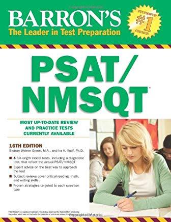 Barron's PSAT/ NMSQT (Barron's test prep) Cover