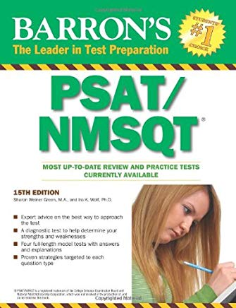 Barron's PSAT/NMSQT (Barron's: The Leader in Test Preparation) Cover
