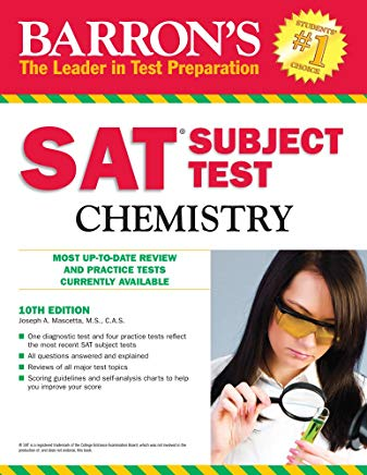 Barron's SAT Subject Test Chemistry Cover