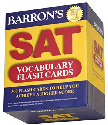 Barron's SAT Vocabulary Flash Cards Cover