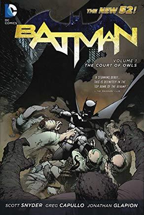 Batman Vol. 1: The Court of Owls (The New 52) (Batman (DC Comics Paperback)) Cover