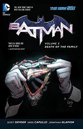 Batman Vol. 3: Death of the Family (The New 52) (Batman (DC Comics Paperback)) Cover