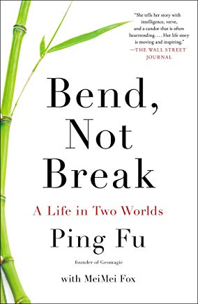 Bend, Not Break: A Life in Two Worlds Cover