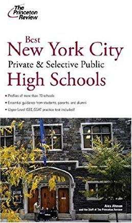 Best New York City Private and Selective Public High Schools (College Admissions Guides) Cover