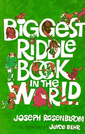 Biggest Riddle Book in the World Cover