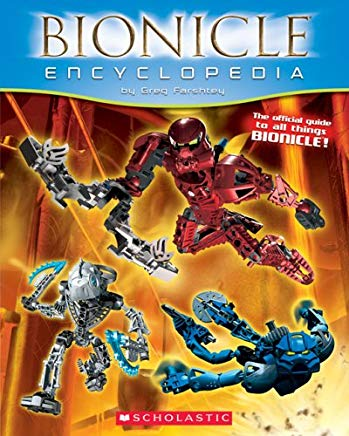 Bionicle Encyclopedia 1st Edition Cover