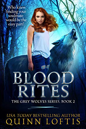 Blood Rites: Book 2 Grey Wolves Series (The Grey Wolves Series) Cover