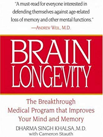Brain Longevity: The Breakthrough Medical Program That Improves Your Mind and Memory Cover