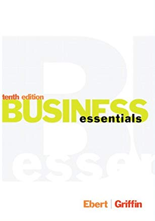 Business Essentials (10th Edition) Cover
