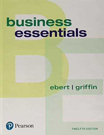 Business Essentials (12th Edition) (What's New in Intro to Business) Cover