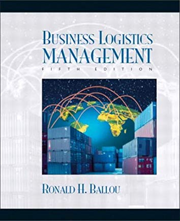 Business Logistics: Supply Chain Management Cover