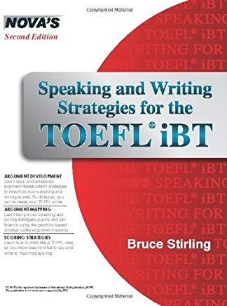 By Bruce Stirling - Speaking and Writing Strategies for the TOEFL iBT [With CDROM] (Pap/Com St) (10/31/09) Cover