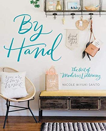 By Hand: The Art of Modern Lettering Cover