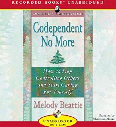 By Melody Beattie: Codependent No More [Audiobook] Cover