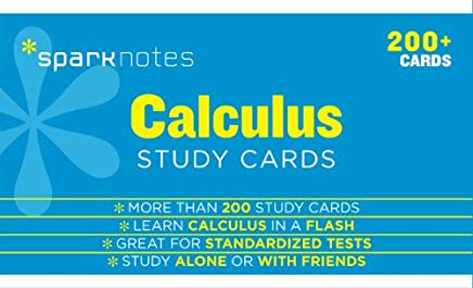 Calculus SparkNotes Study Cards Cover