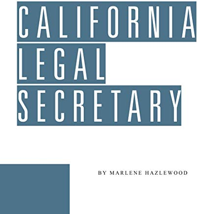 California Legal Secretary Cover
