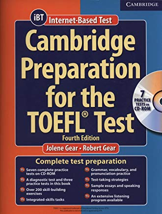 Cambridge Preparation for the TOEFL Test (Book & CD-ROM) Cover