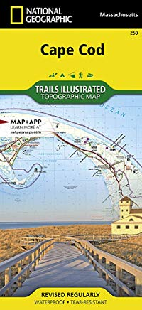 Cape Cod (National Geographic Trails Illustrated Map) Cover