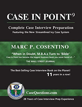 Case in Point 9: Complete Case Interview Preparation Cover