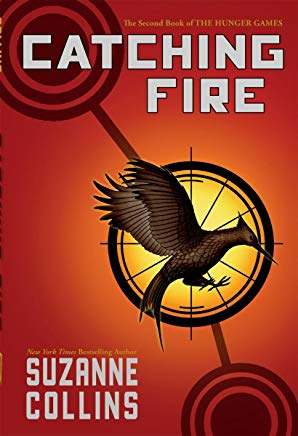 Catching Fire  Hunger Games 2 Cover