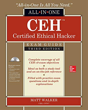 CEH Certified Ethical Hacker All-in-One Exam Guide, Third Edition Cover
