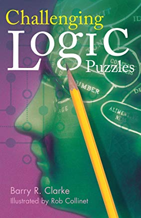 Challenging Logic Puzzles (Official Mensa Puzzle Book) Cover
