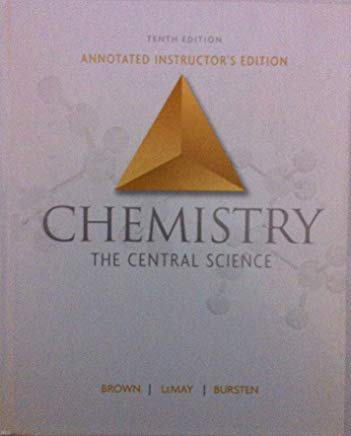 Chemistry Teacher's Edition: The Central Science Cover