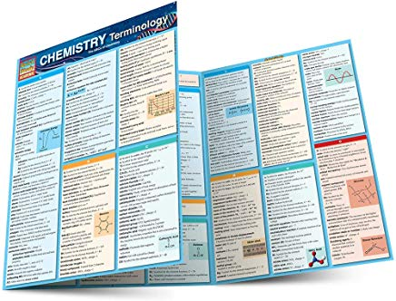 Chemistry Terminology (Quick Study Academic) Cover