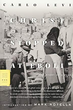 Christ Stopped at Eboli: The Story of a Year (FSG Classics) Cover