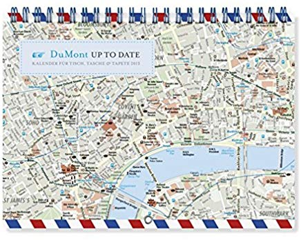 City Maps - Up to date Kalender 2013 Cover