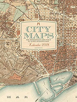 City Maps 2018 Cover
