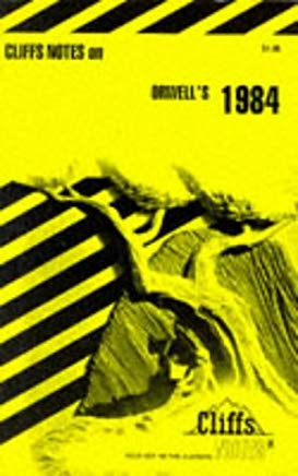 CliffsNotes on Orwell's 1984 Cover
