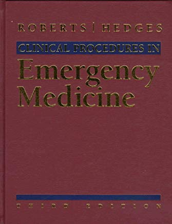 Clinical Procedures in Emergency Medicine, Third Edition Cover