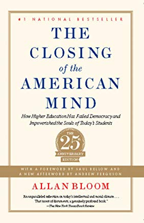Closing of the American Mind Cover