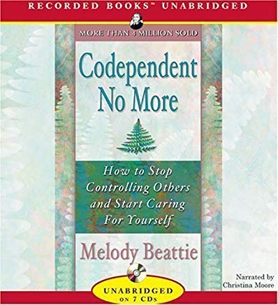 Codependent No More UNABRIDGED Edition by Beattie, Melody published by Recorded Books (2006) Audio CD Cover