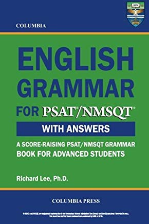 Columbia English Grammar for PSAT/NMSQT Cover