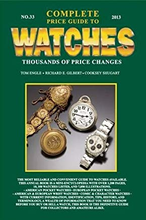 Complete Price Guide to Watches 2013 Cover