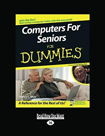 Computers for Seniors for Dummies Cover