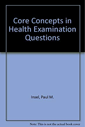 Core Concepts in Health Examination Questions Cover