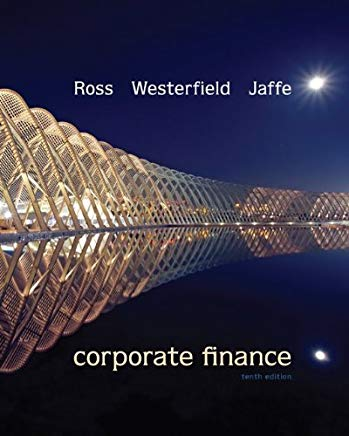 Corporate Finance, 10th Edition Cover